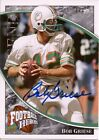2009 UD FOOTBALL HEROES BOB GRIESE 1 1 AUTO AUTOGRAPH LEGENDARY HEROES DOLPHINS