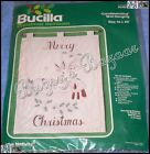 Bucilla THE NATIVITY Wall Hanging Candlewicking Embroidery Christmas Kit