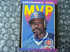 ANDRE DAWSON SIGNED AUTOGRAPHED CARD HALL OF FAMER PSADNA CERTIFIED CHICAGO CUBS