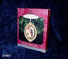 1998 Hallmark OUR FIRST CHRISTMAS TOGETHER Brass & Porcelain Ornament NEW in Box
