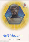 STAR TREK THE ORIGINAL SERIES 35TH ANNIVERSARY A4 BOB HERRON KAHLESS AUTOGRAPH