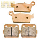 Front Rear Performance Sintered Brake Pads For honda CR 80 R CR 85 R/RB