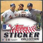2011 Topps Baseball Sticker Collection Box NEW Factory Sealed Box w 50 Packs