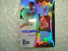 Brian Matusz 2010 Topps Triple Threads 66 75 AUTOGRAPGH Game Used Jersey Card RC