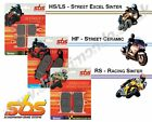 SBS Street Ceramic Front brake pads for Aprilia 280R Climber 92-93 models 105HF