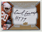2011 UPPER DECK EXQUISITE COLLECTION INSCRIPTIONS EARL CAMPBELL AUTOGRAPH 10
