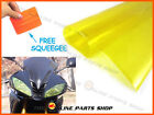 Self Adhesive Yellow Tint Headlight Film Fits: Honda CD 200 Road Master