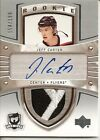 2005-06 THE CUP JEFF CARTER AUTOGRAPH RC 3CLR PATCH AUTO 154 199 STANLEY CUP WIN