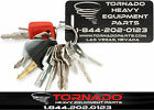 14 Keys Heavy Equipment Construction Ignition Key Set