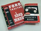 LOT FORD 8N TRACTOR SHOP MANUAL OWNERS OPERATORS SERVICE REPAIR TECHNICAL NEW
