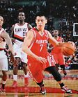 Jeremy Lin Autographed 16x20 Rockets Dribbling Photo- Steiner Authenticated