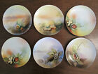 Lot of 6 NORITAKE Hand Painted 6.25
