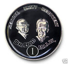 Bill & Bob AA Anniversary Recovery Coin/Medallion YRS 1-35 & 18 mos Silver & Blk