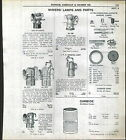 1939 AD Miners Lamps Parts Cap Hat ITP Justrite Carbide