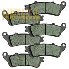 Front Rear Carbon Brake Pads - 2002-2008 2003 HONDA VTX 1800 1800R 1800C