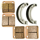 Front Rear Sintered Brake Pads shoes - 2003 2004 YAMAHA Kodiak YFM 400 A/FA 2WD