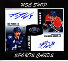 DION PHANEUF RYAN NUGENT-HOPKINS 2012-13 CERTIFIED DUAL AUTO 100 NHL CARD