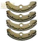 Front brake shoes 1993-1998 1994 1995 1996 1997 YAMAHA YFM 400 FW Kodiak
