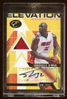 SHAQUILLE O'NEAL 2008 TOPPS AUTO PATCHES #D 02 15 HEAT NBA CHAMPS LAKERS HOF