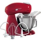 All-Metal 12 Speed Electric Stand Mixer, Red 4.5 Qt. Stainless Steel Mixing Bowl