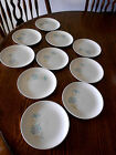 Vintage 1950's Taylor Smith Taylor TST Boutonniere Set Of 10 Bread Butter Plates