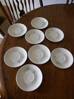 Vintage 1950's Taylor Smith Taylor TST Boutonniere Set Of 8  Saucer Plates Small