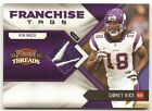2010 Panini Threads Sidney Rice Franchise Tags #1 3 Card #16 P1038
