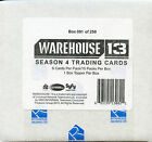 Warehouse 13 Season 4 Premium Pack Box Autographs Relic Cards
