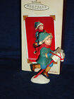Hallmark 2003 A Visit from Santa GIDDY-UP, CHRISTMAS Ornament w/Box