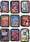 WACKY PACKAGES STICKERS Series Nine Cereal Box Sticker Set C1-9 Topps 2012