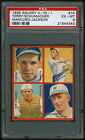 1935 Goudey Baseball Card #1K Bill Terry Detroit Tigers Puzzle PSA 6 Giants