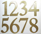 4 Gold Glitter Chipboard Wedding Table Numbers 1 12 1 15 1 20 1 30 stickers