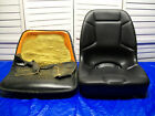 NEW HIGH BACK SEAT OLDER KUBOTA COMPACT TRACTORS with WELDED 3 HOLE BRACKETS CH