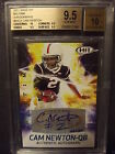 2011 Sage Hit Big Time Auto #BA23 - Cam Newton RC - BGS 9.5 Gem Mint w 10 #rd