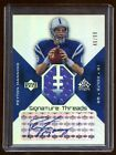 PEYTON MANNING 2004 UD SIGNATURE THREADS AUTOGRAPH JERSEY #D 99 COLTS BRONCOS