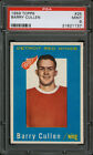 1959-60 Topps Hockey Card #25 Barry Cullen PSA 9