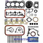 89 95 SUZUKI SIDEKICK TRACKER 8V G16K FULL GASKET SET W HEAD BOLTS W SILICONE