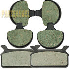 Front Rear Carbon Brake Pads 1986-1999 Harley Ultra Electra Glide Classic