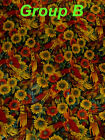 THANKSGIVING Sew Quilt Seasonal Sunflower Holiday Pillow Tote Home Craft Fabric