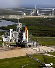 SPACE SHUTTLES ATLANTIS  ENDEAVOUR ON LAUNCH PADS IN 2008 8X10 PHOTO AA 181