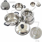 Hiking Camping Cooking Windproof Stainless Steel liquid Alcohol Stove Heater Pot