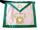 Masonic Fraternal Scottish Rite 8 Degree Intendant of the Building Regalia Apron