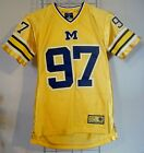 Michigan Athletic Jersey by College Equipment Size Youth 12 14