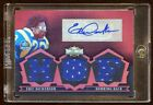 2007 TOPPS ERIC DICKERSON AUTO TRIPLE JERSEY #D 18 RARE HOF JERSEY AUTO 18 MADE