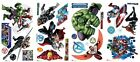 AVENGERS ASSEMBLE Wall Stickers 28 Decals MARVEL Hulk Iron Man Captain America