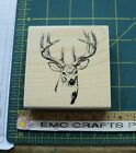 STAMPABILITIES BUCK HEAD RUBBER STAMP l1103