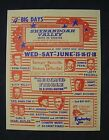 Jim Reeves BILL MONROE Faron Young RARE Drive-In Movie Hand Bill Flier 1970