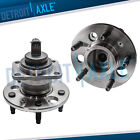 Pair 2 NEW REAR Wheel Hub and Bearing Assembly Buick Cadillac Pontiac ABS
