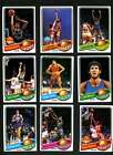 1979-80 TOPPS BASKETBALL ALMOST COMPLETE SET OF 132 CARDS MISSING 1 CARD NM LOT2