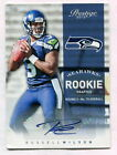2012 PANINI PRESTIGE ROOKIE RUSSELL WILSON AUTOGRAPH 499